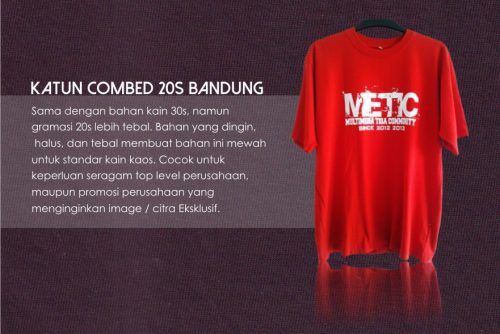 COMBED 20S BDG